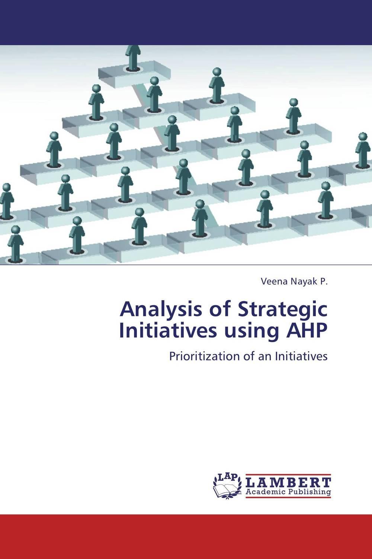 Veena Nayak P.. Analysis of Strategic Initiatives using AHP