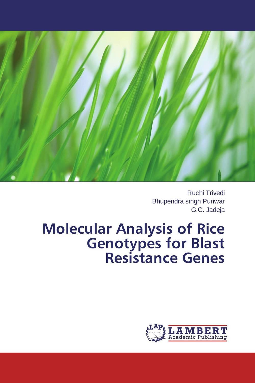 Ruchi Trivedi,Bhupendra singh Punwar and G.C. Jadeja Molecular Analysis of Rice Genotypes for Blast Resistance Genes santosh kumar singh biodiversity assessment in ocimum using molecular markers