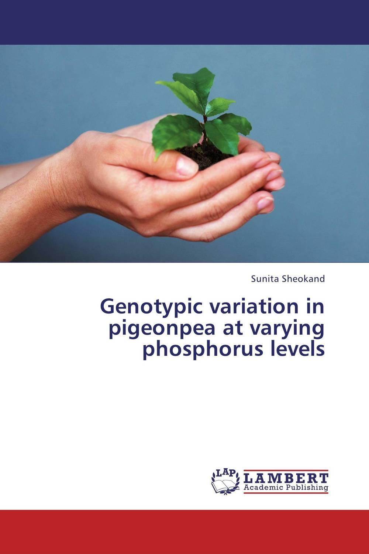 Genotypic variation in pigeonpea at varying phosphorus levels