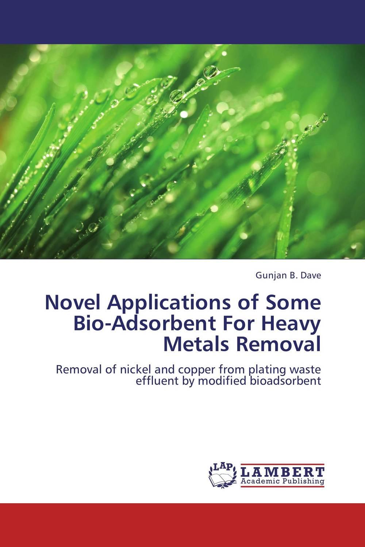 Gunjan B. Dave Novel Applications of Some Bio-Adsorbent For Heavy Metals Removal rakesh kumar khandal geetha seshadri and gunjan suri novel nanocomposites for optical applications