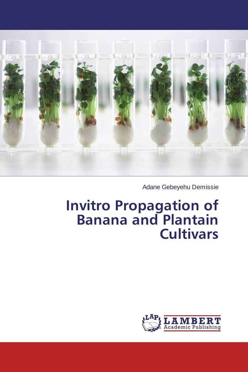 Invitro Propagation of Banana and Plantain Cultivars
