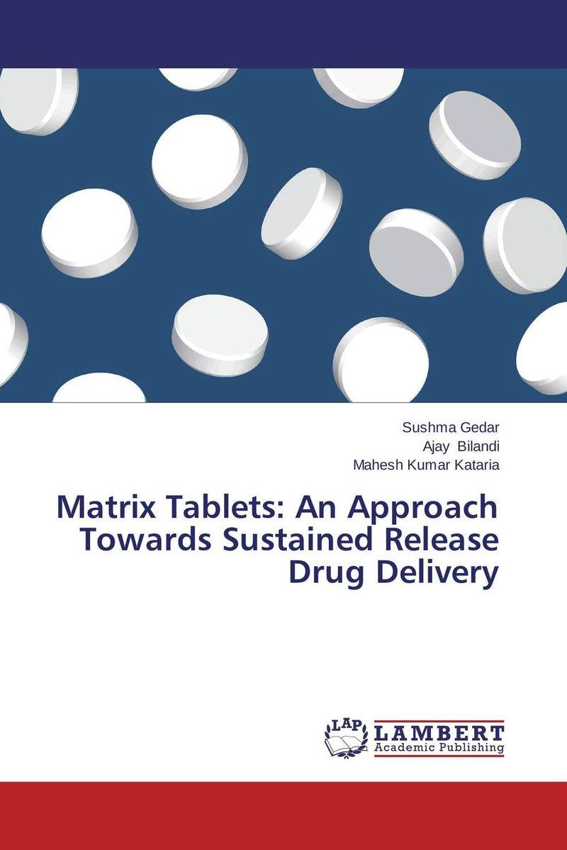 Sushma Gedar,Ajay Bilandi and Mahesh Kumar Kataria Matrix Tablets: An Approach Towards Sustained Release Drug Delivery dr shaila v kothiwale and dr mahesh neurgaonkar local drug delivery in periodontics