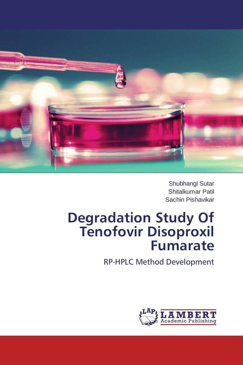 Degradation Study Of Tenofovir Disoproxil Fumarate