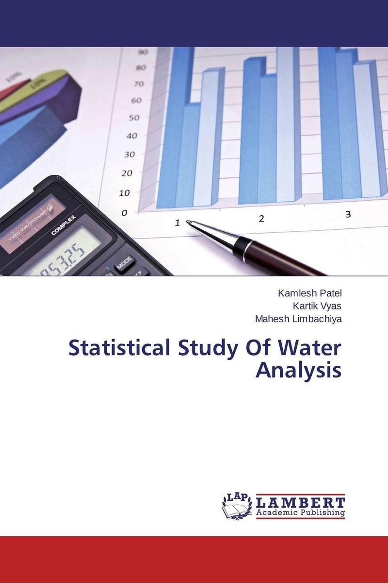 Kamlesh Patel,Kartik Vyas and Mahesh Limbachiya Statistical Study Of Water Analysis