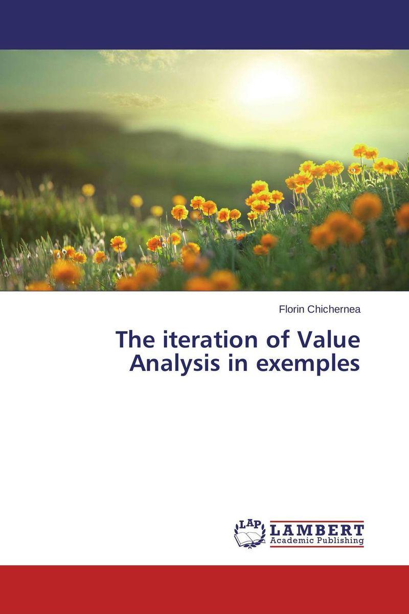 Florin Chichernea The iteration of Value Analysis in exemples игра djeco шнуровка зверюшки