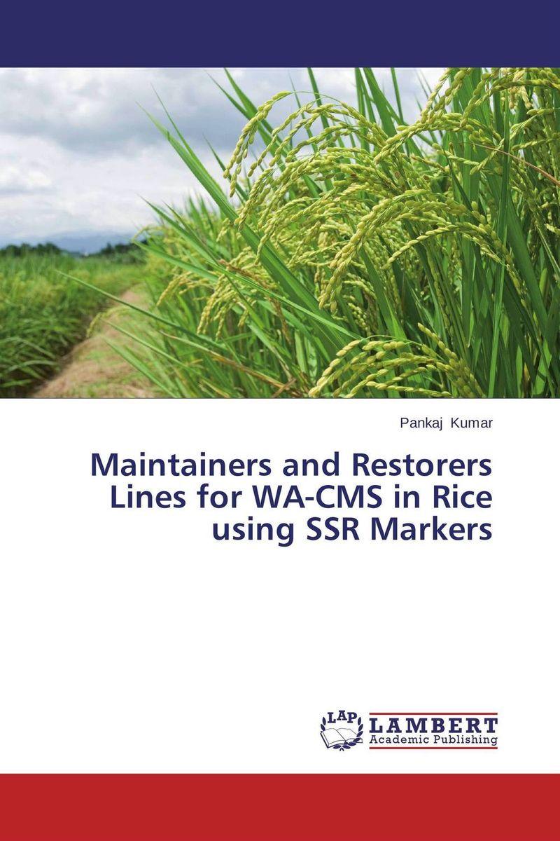 Pankaj Kumar Maintainers and Restorers Lines for WA-CMS in Rice using SSR Markers santosh kumar singh biodiversity assessment in ocimum using molecular markers