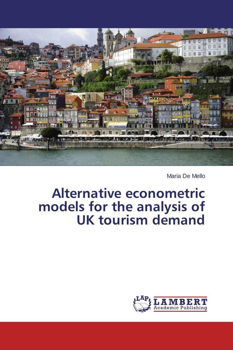 Maria De Mello. Alternative econometric models for the analysis of UK tourism demand