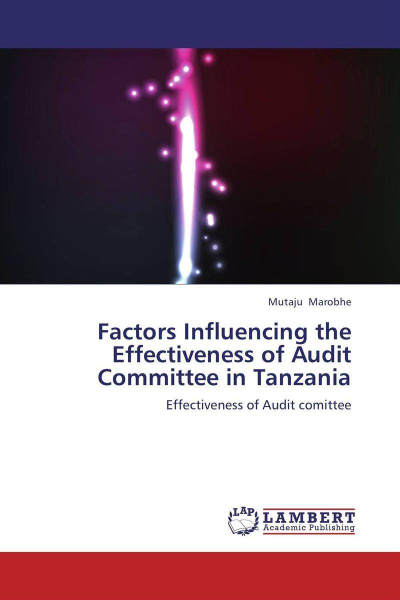 Factors Influencing the Effectiveness of Audit Committee in Tanzania
