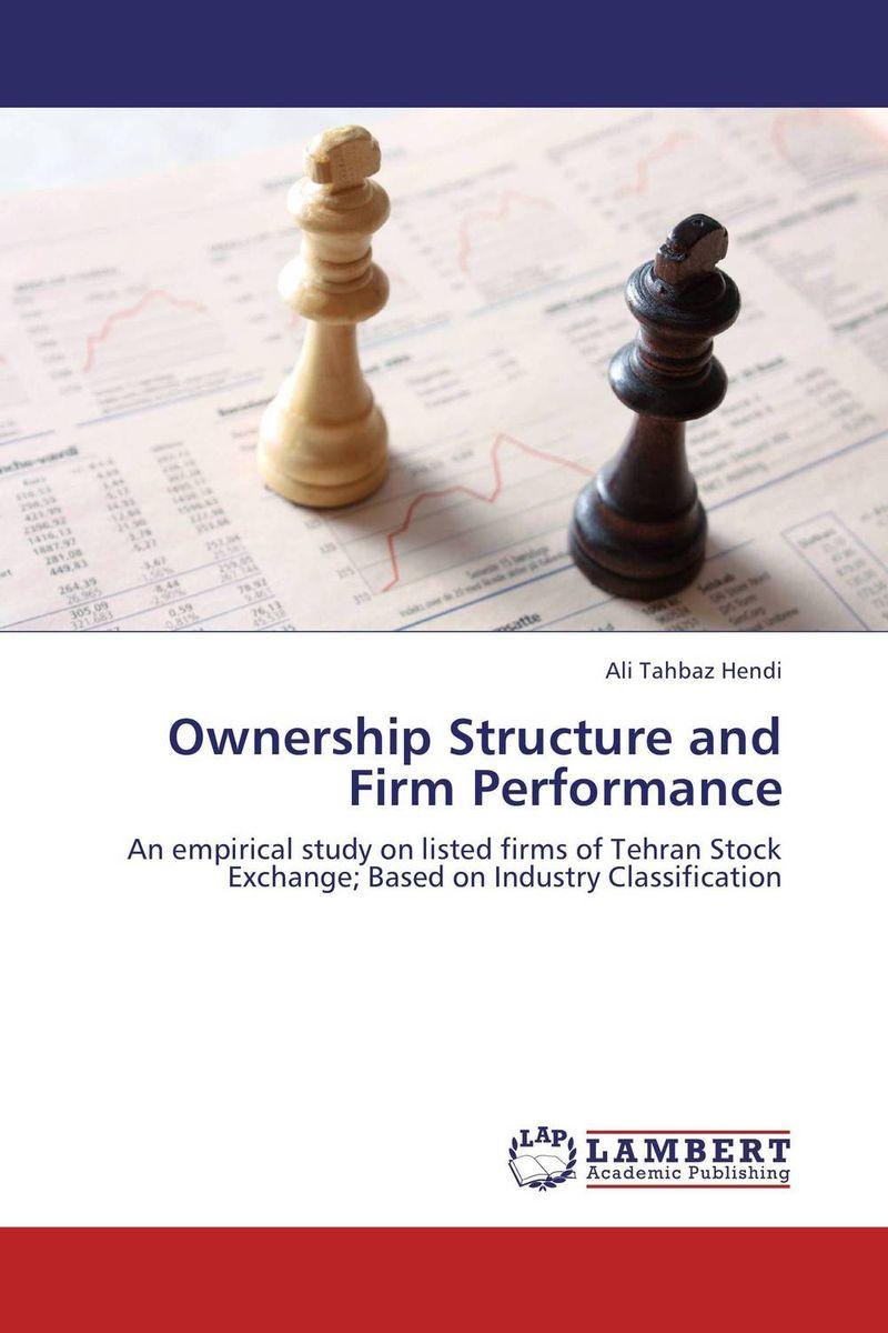 где купить  Ownership Structure and Firm Performance  по лучшей цене