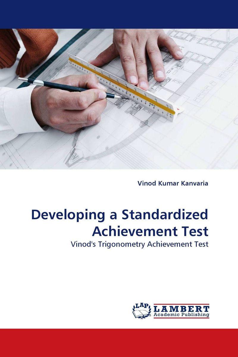 Vinod Kumar Kanvaria Developing a Standardized Achievement Test vinod kumar singh c p srivastava and santosh kumar genetics of slow rusting resistance in field pea