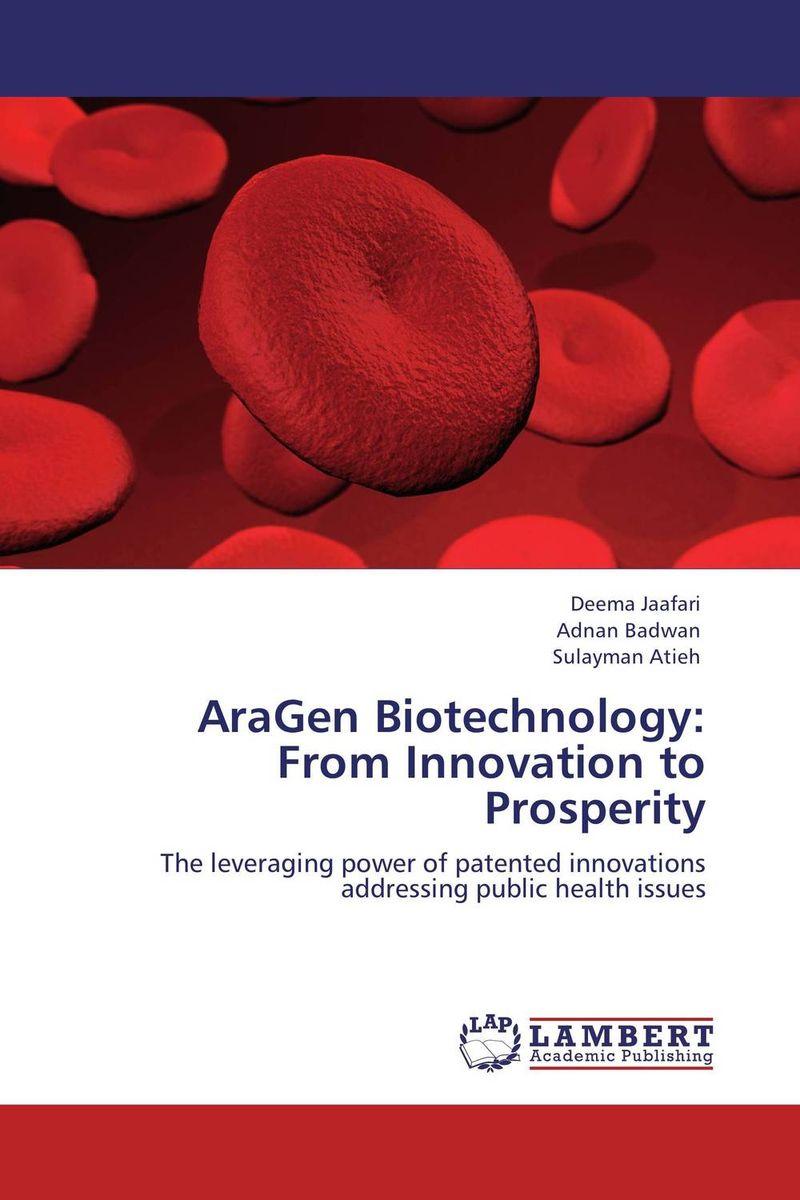 Deema Jaafari,Adnan Badwan and Sulayman Atieh. AraGen Biotechnology: From Innovation to Prosperity