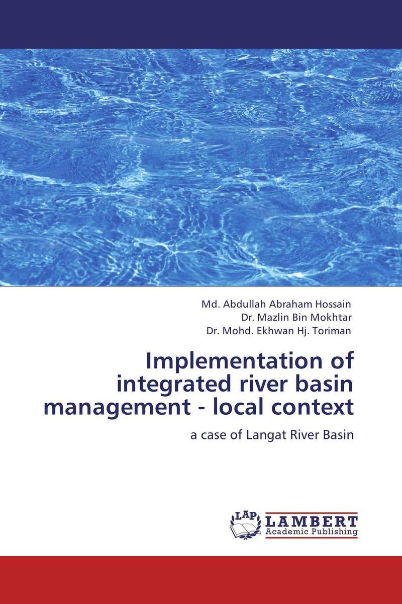 Md. Abdullah Abraham Hossain,Dr. Mazlin Bin Mokhtar and Dr. Mohd. Ekhwan Hj. Toriman Implementation of integrated river basin management - local context dr shaila v kothiwale and dr mahesh neurgaonkar local drug delivery in periodontics