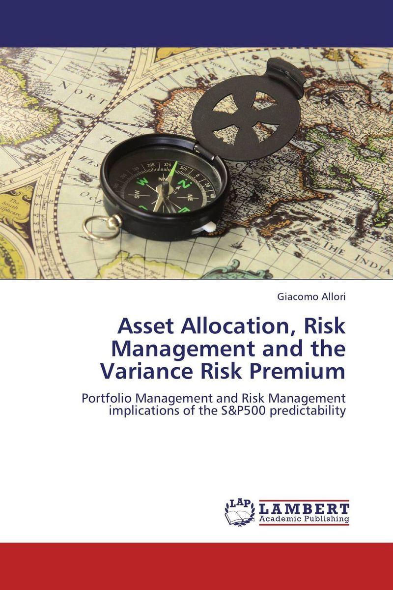 Giacomo Allori. Asset Allocation, Risk Management and the Variance Risk Premium