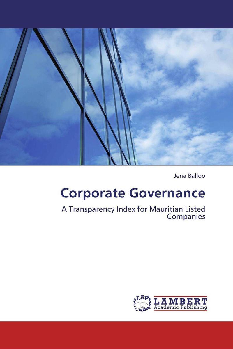 цена  Jena Balloo Corporate Governance  онлайн в 2017 году