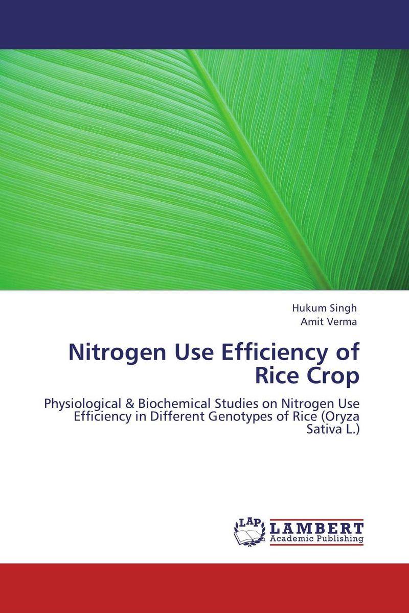Hukum Singh and Amit Verma Nitrogen Use Efficiency of Rice Crop rakesh singh amit kumar singh and g k garg cloning of glna from bacillus brevis