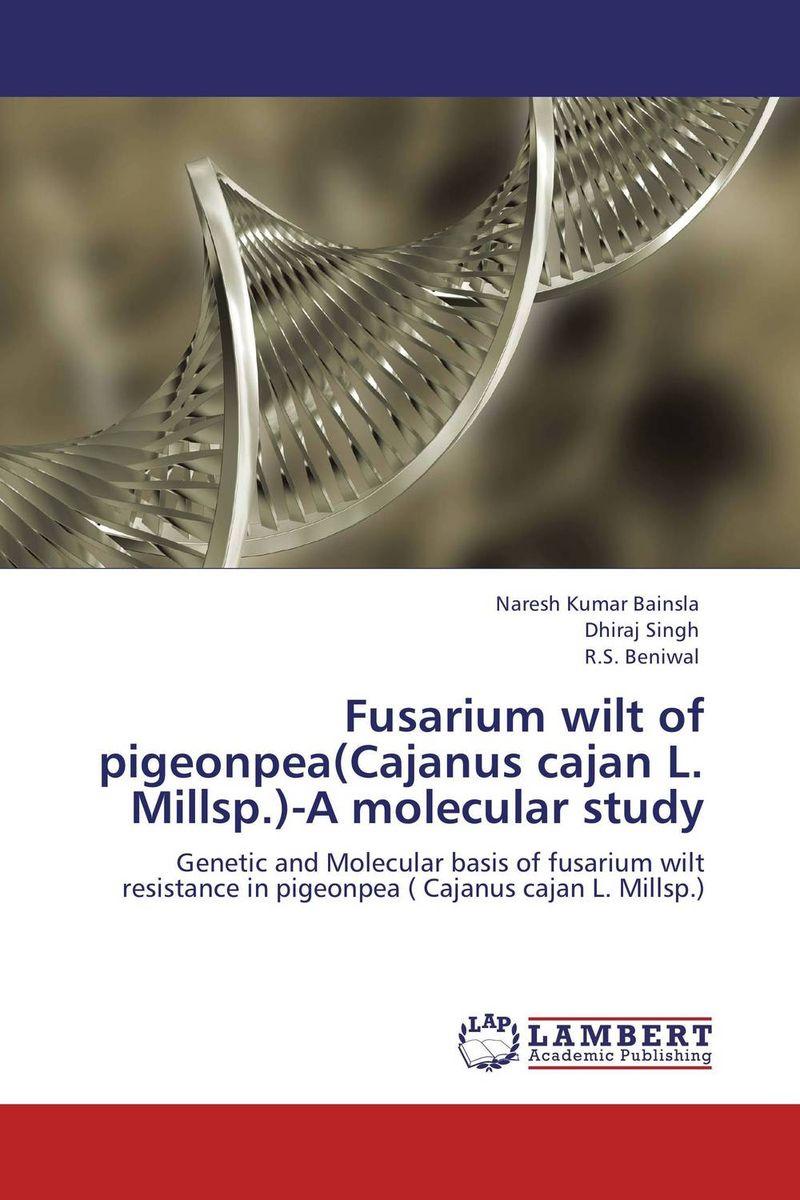 Naresh Kumar Bainsla,Dhiraj Singh and R.S. Beniwal Fusarium wilt of pigeonpea(Cajanus cajan L. Millsp.)-A molecular study santosh kumar singh biodiversity assessment in ocimum using molecular markers