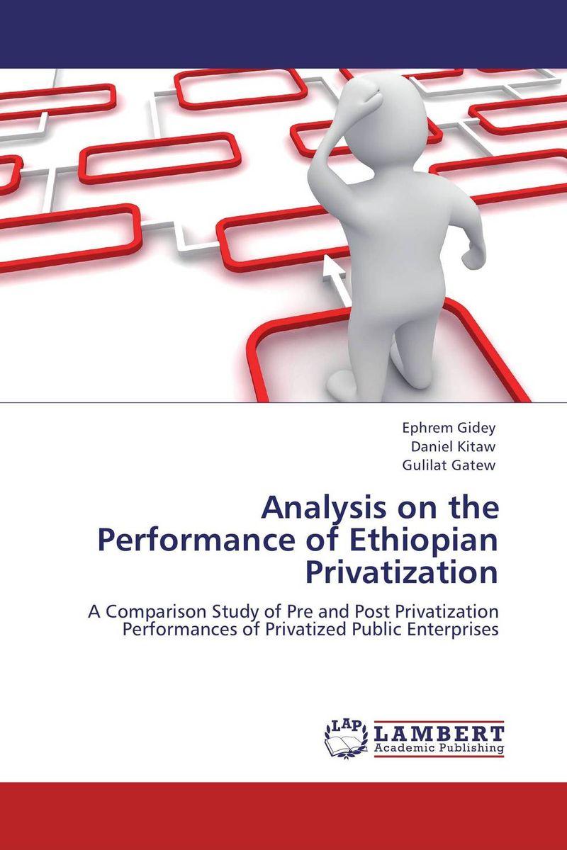 Analysis on the Performance of Ethiopian Privatization dali zensor vokal black ash