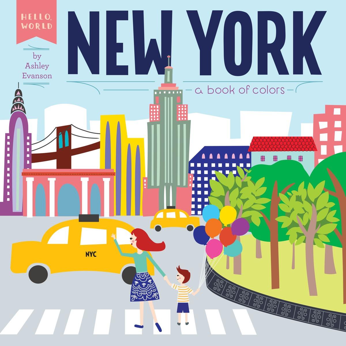 EVANSON, ASHLEY. HELLO, WORLD: NEW YORK