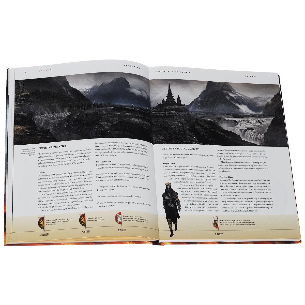 Dragon Age: The World of Thedas: Volume 1