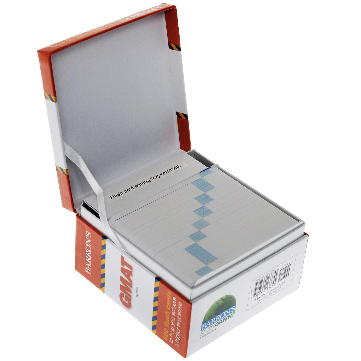 Книга Barron's: GMAT: 400 Flash Cards. Jennifer Herman