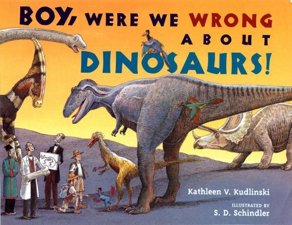 Boy, Were We Wrong About Dinosaurs! гель лак для ногтей sally hansen miracle gel 240 цвет 240 b girl variant hex name 79c8b8
