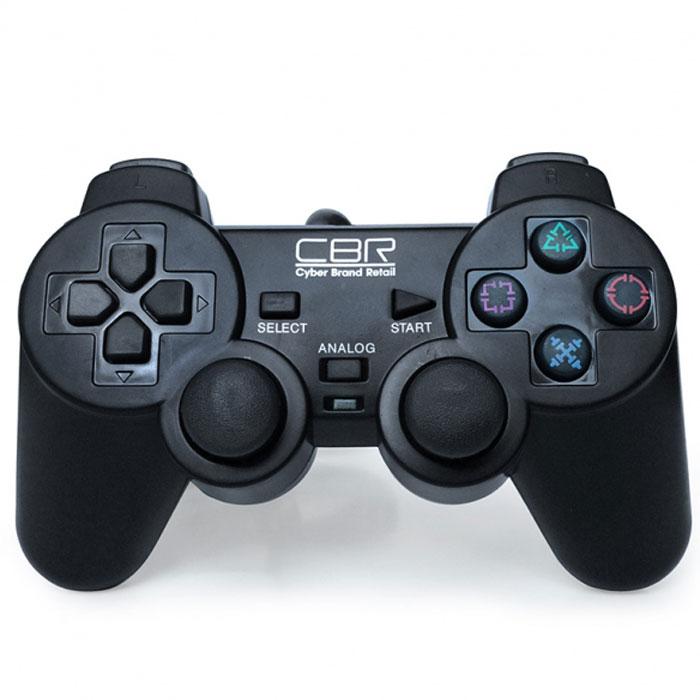CBR CBG 950 геймпад для PC/PS2/PS3MCB3226600C2/04/1CBG 950 - игровой джойстик с самой широкой областью применения. Он совместим не только с персональными компьютерами, но и с двумя моделями приставок - PS2 и PS3. Остальной набор функций классический: 2 аналоговых джойстика, 12 функциональных кнопок, два встроенных вибромотора, которые передают вибро-отклик на события, запрограммированные для конкретной игры, например, взрыв, ранение героя и т.п. CBG 950 соединяется с компьютером или приставкой при помощи кабеля длиной 1,5 м и совместим практически со всеми версиями Windows.