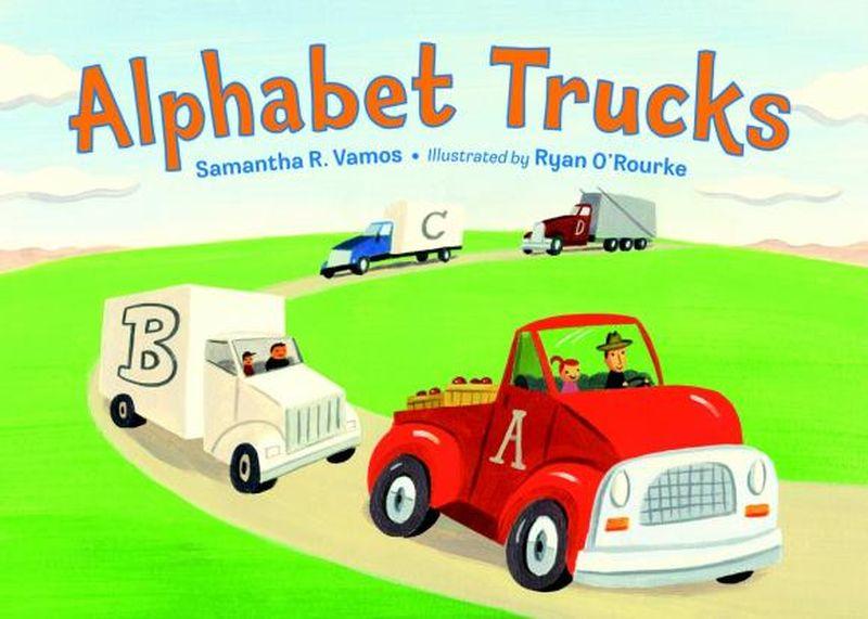 Samantha R. Vamos. Alphabet Trucks