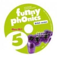 Mitchell,H.Q.; Malkogianni,Marileni Funny Phonics 5 CD h q mitchell marileni malkogianni funny phonics 2 activity book cd rom