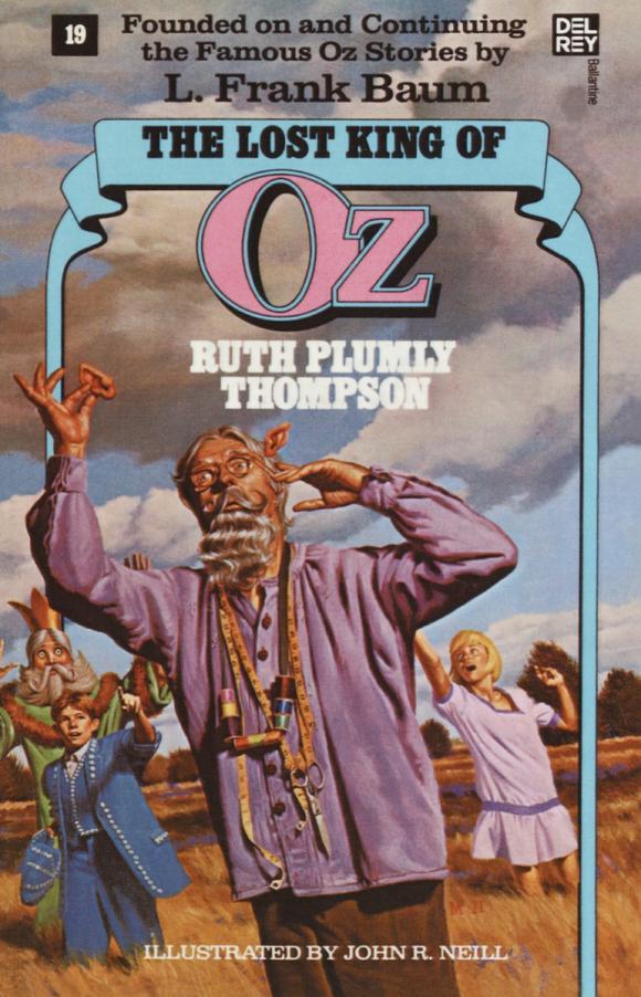 Lost King of Oz (Wonderful Oz Books, No 19)
