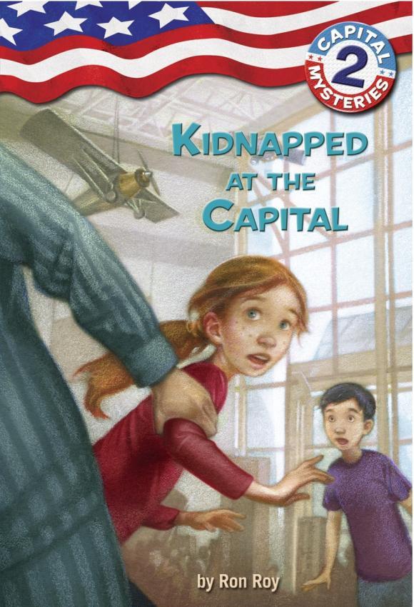 Capital Mysteries #2: Kidnapped at the Capital krazing pot round peep toe kid skin velvet crystal rhinestone women sandals gradiator superstar mules high heels summer shoe l18