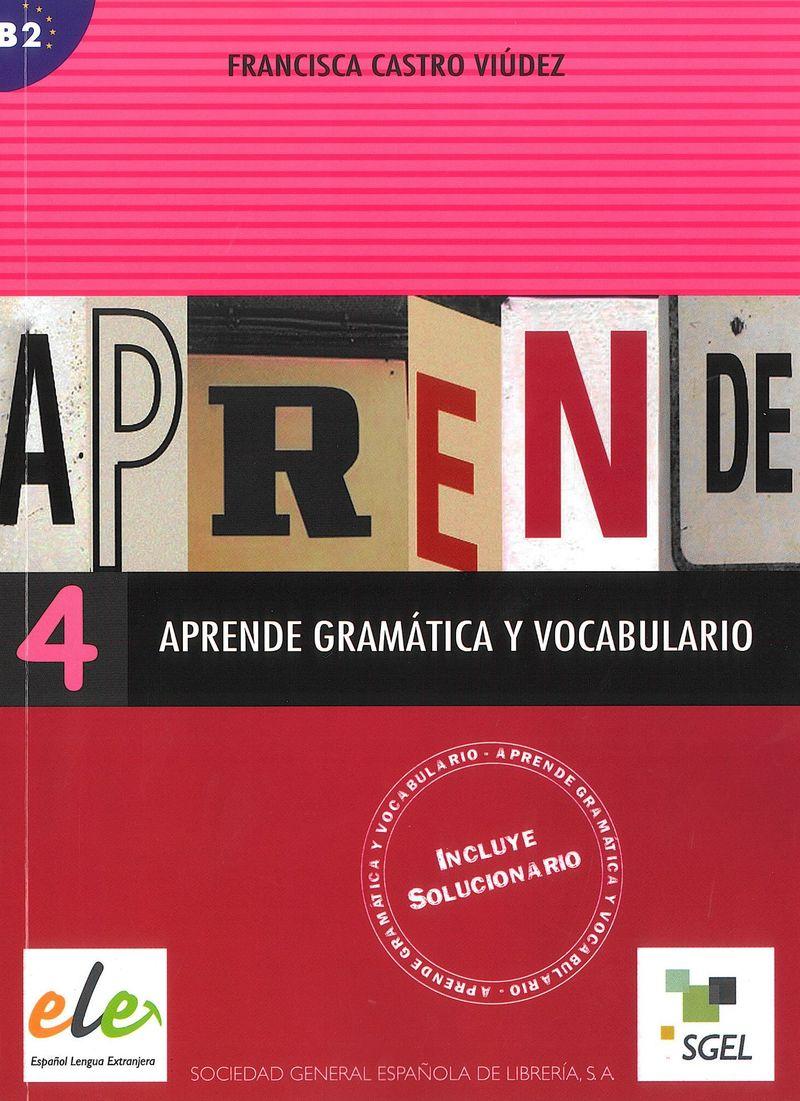 Hernandez, F. Aprende gramatica y vocabulario 4 цепь шариковая suki 3 6мм латунь хромир