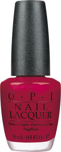 OPI Лак для ногтей Chick Flick Cherry, 15 мл002722Лак для ногтей OPI быстросохнущий, содержит натуральный шелк и аминокислоты. Увлажняет и ухаживает за ногтями. Форма флакона, колпачка и кисти специально разработаны для удобного использования и запатентованы.