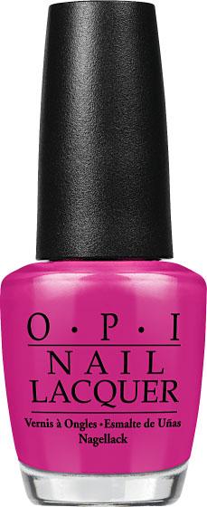 OPI Лак для огтей The Berry Thought of You, 15 мл002722Лак для ногтей из коллекции Brights OPI 2015. Фиолетовый оттенок. Палитра лаков Brights OPI - это яркие лаки для ногтей, которые отлично смотрятся как на длинных, так и на коротких ногтях. Для более насыщенного маникюра наносите лаки Brights поверх базового покрытия белого цвета. Вся коллекция представлена также и в гель-лаке GelColor.