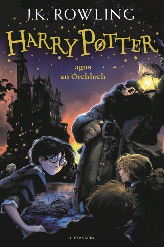J.K. Rowling. Harry Potter and the Philosopher's Stone (Irish)