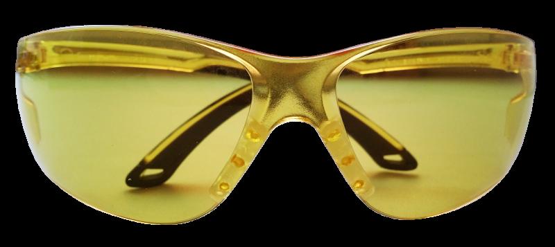 Очки стрелковые Stalker, защитные, цвет: желтыйINT-06501Защитные стрелковые очки Stalker с ударопрочными поликарбонатными линзами светопрпускаемостью 85%. Обеспечивают защиту глаз спереди и сбоку от частиц, летящих со скоростью 400 м/с. Обрезиненные дужки. На линзы нанесена защита от царапин. Данные защитные очки были произведены в соответствии со стандартами ANSI Z87.1 и CE EN166. Их линзы изготовлены из ударопрочного поликарбоната с использованием покрытия, защищающего от царапин, но очки не являются небьющимися и обеспечивают ограниченную защиту.Характеристики очков: - УФ-защита - Светопропускаемость 85% - Класс оптики 1 - Обрезиненные дужки - Ударопрочные - Защита от царапин.