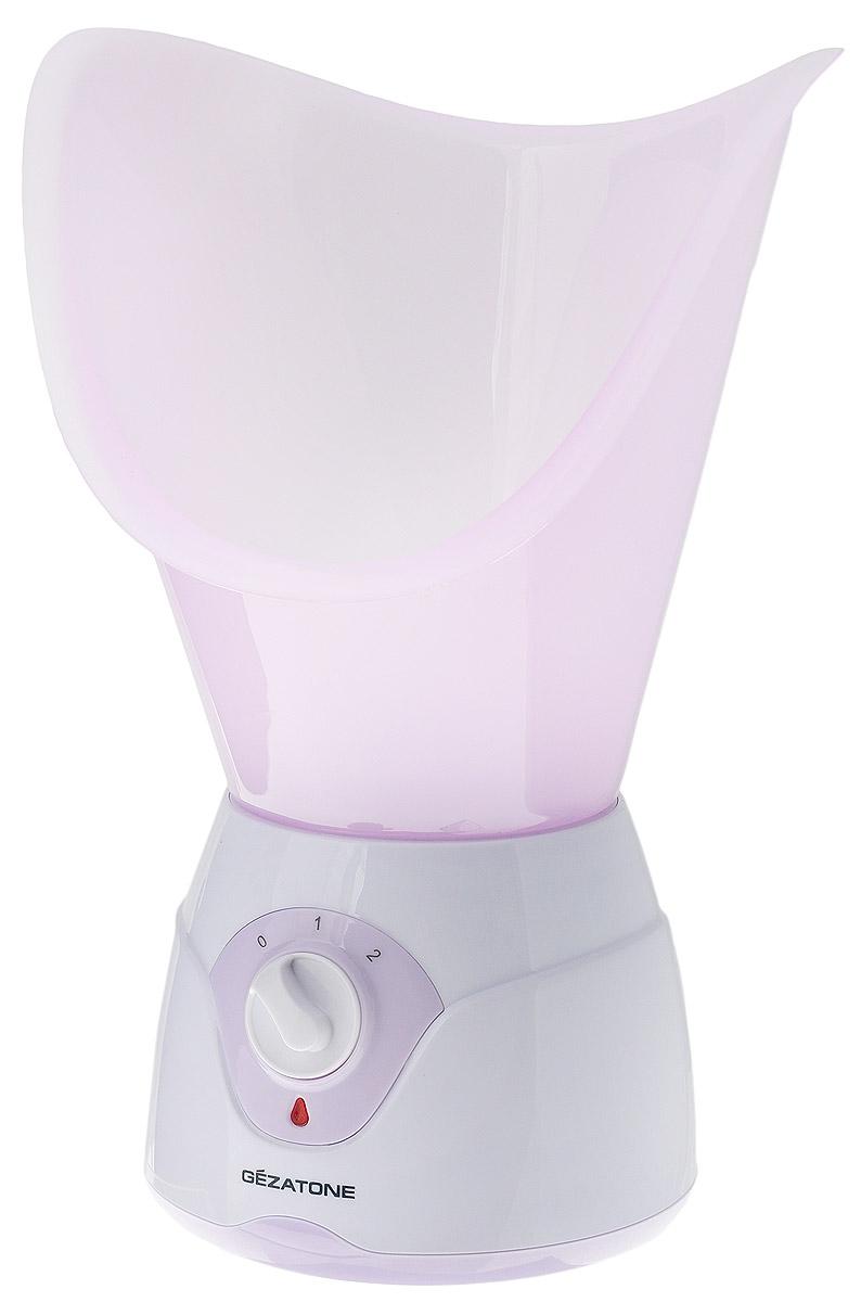 Gezatone Паровая сауна для лица 105S7102014Паровая сауна Gezatone 105S - это идеальное средство для проведения простых и приятных процедур поувлажнению кожи, открытию и очистке пор, общему оздоровлению и повышению тонуса кожи, сохранению красотыи молодости лица.Благодаря нагревательному элементу, сауна создает мягкий пар, который подготавливает кожу к очистке,открывает поры, увлажняет и укрепляет кожу лица. Резервуар сауны предназначен для воды или травяныхнастоев, но не рекомендуется для использования эфирных масел или спиртовых растворов. Большая чаша для лица идеально прилегает к лицу, обеспечивая комфортность процедуры, а малая насадкапозволяет проводить оздоровительные процедуры ингаляции. Регулятор парообразования сделает процедуры спаровой сауной максимально комфортными.Диапазон рабочих температур: +15...35°С Допустимая влажность: не более 85%