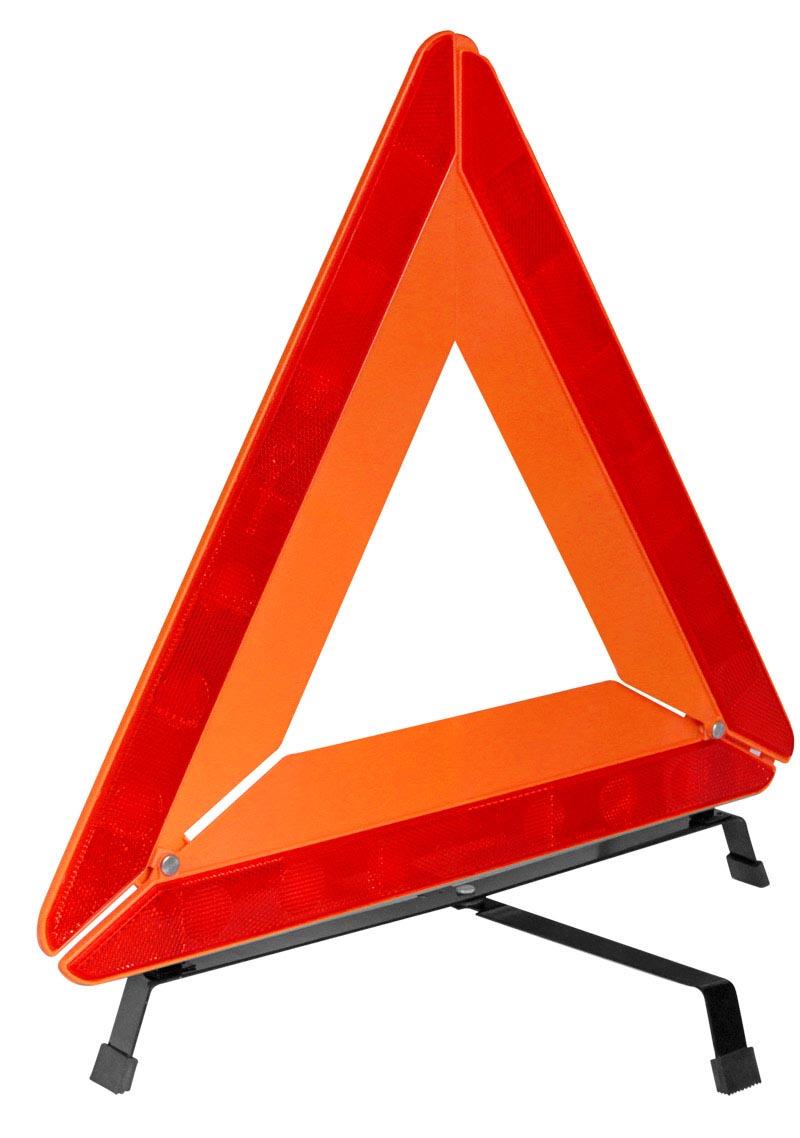Знак аварийной остановки Kraft с усиленным корпусомCA-35054 металлические ножки(крест). Пластмассовая флуорисцентная линия. Ширина светоотражающей полосы 35 см