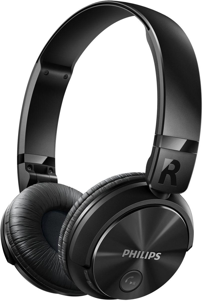 Philips SHB3080BK/00 Bluetooth-наушникиTRI881040002/02/1На создание беспроводных наушников SHB3080 с возможностью подключения по Bluetooth Philips вдохновилдизайн DJ-наушников — модель создана специально для амбициозных творческих начинаний. Наслаждайтесьмузыкой часами и с легкостью отвечайте на звонки благодаря продуманной компактной складной конструкции.Высокоинтенсивные 32-миллиметровые излучатели для воспроизведения чистых и мощных басов:Высокоинтенсивные 32-миллиметровые излучатели воспроизводят чистые и мощные басы.Технология Bluetooth для удобства и свободы от проводов:Выполните сопряжение наушников с любым устройством Bluetooth для наслаждения кристально чистым звукомбез проводов.Закрытое акустическое оформление гарантирует надежную звукоизоляцию:Закрытое акустическое оформление гарантирует надежную звукоизоляцию, отсекая окружающие шумы.Плоская складная конструкция обеспечивает комфорт в дороге:Для обеспечения максимального комфорта при использовании в дороге эти наушники легко складываются,гарантируя удобство переноски и хранения.Мягкие дышащие амбушюры для комфорта при длительном прослушивании:Мягкие дышащие амбушюры обеспечивают комфорт при длительном прослушивании музыки.Беспроводное управление музыкой и вызовами:Просто выполните сопряжение смарт-устройства с наушниками через Bluetooth и наслаждайтесь кристальночистым звучанием при совершении вызовов и прослушивании музыки в беспроводном режиме.