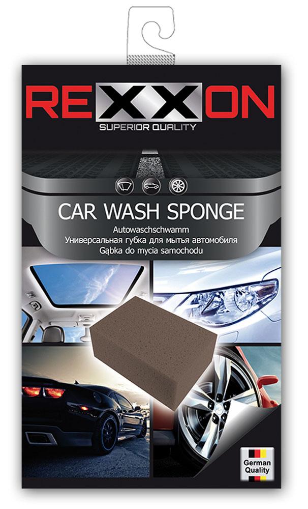 Губка для автомобиля Rexxon, универсальная, 195 х 120 х 70 ммDAVC150Универсальная губка для автомобиля. Изготовлена из качественного поролона, впитывает большое количество влаги, не оставляет разводов.