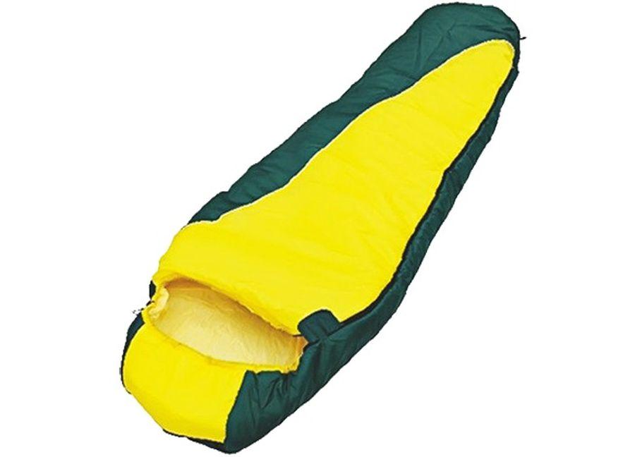 Спальный мешок Чайка SOLO 250, правосторонняя молния, цвет: желтый, зеленыйATC-F-01Спальный мешок-кокон Чайка SOLO 250 предназначен для людей, увлекающихся туризмом и активным отдыхом. Глубокий утягивающий капюшон позволит максимально сохранить тепло.Синтетический утеплитель нового поколения термофайбер обладает повышенными теплоизолирующими свойствами. Он легкий, мягкий, особотеплый, хорошо пропускает воздух, не впитывает влагу. Практичная модель для теплого сезона. Комплектуется компактным чехлом. Размер: 230 х 80 см. Материал наружный: Полиэстеровая таффета 190T. Материал внутренний: Бязь (100% хлопок) / эпонж (100% полиэстер). Наполнитель: Термофайбер 250г/м2.Температурный режим: 0/+15 С. Вес: 1,15 кг.