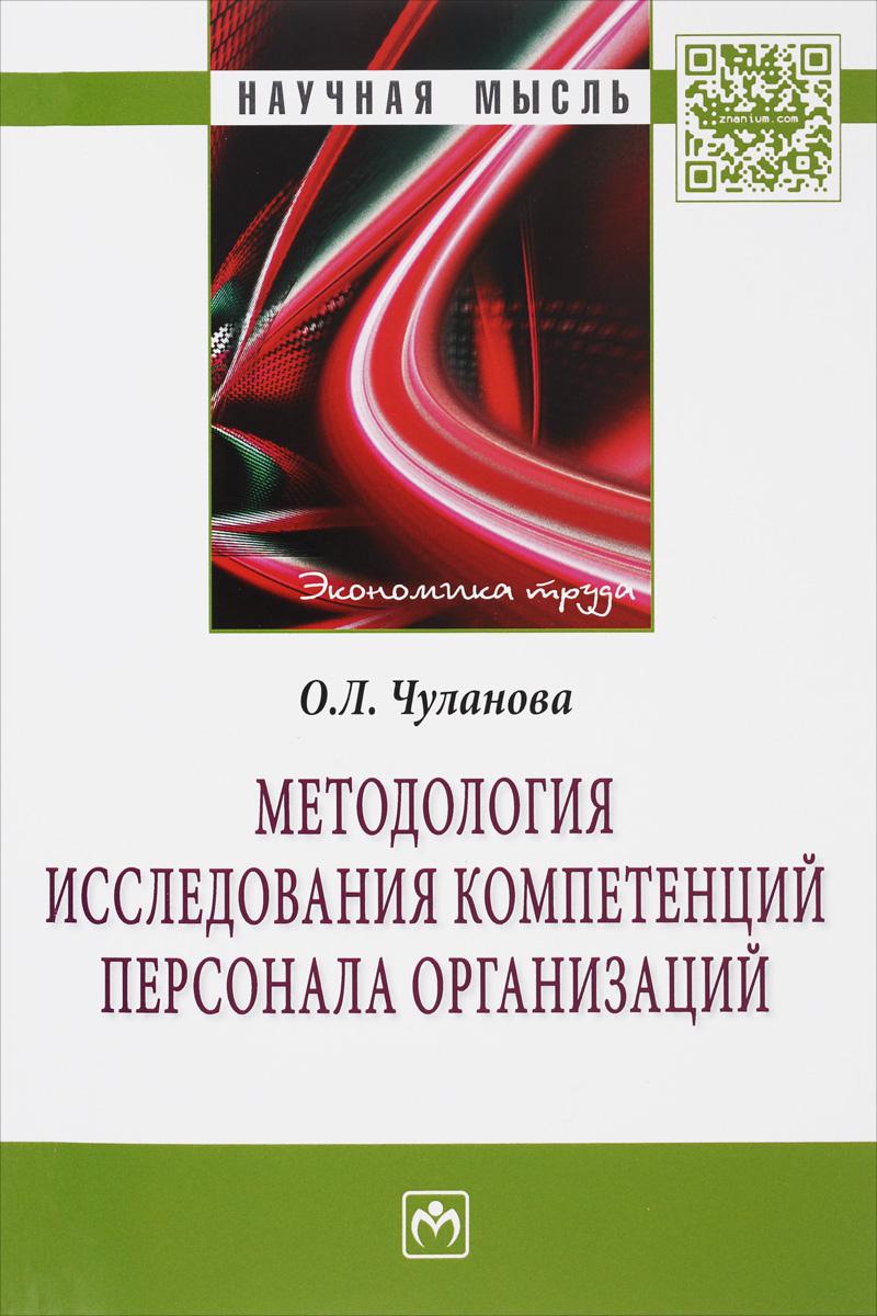 Методология исследования компетенций персонала организаций