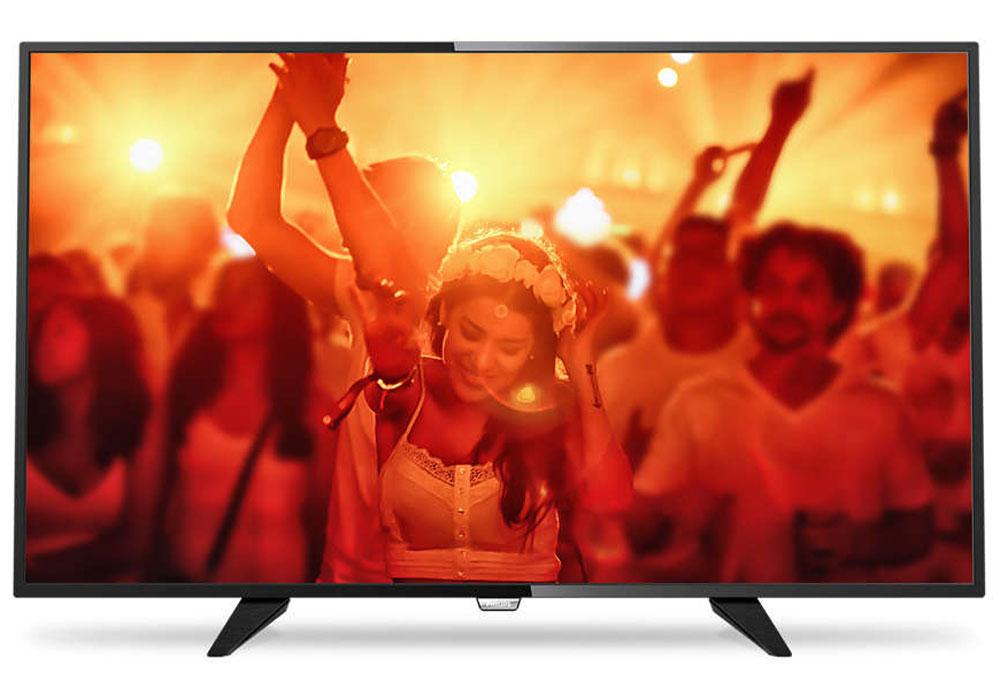 Philips 32PHT4201/60, Black телевизор43UH610VPhilips 32PHT4201/60 - сверхтонкий светодиодный HD LED-телевизор.Утонченные линии подчеркивают изящность дизайнаИзящный, современный, лаконичный дизайн. Неудивительно, что ультратонкий силуэт телевизора Philipsпритягивает к себе взгляд - это идеальное решение, которое прекрасно дополнит любой интерьер. USB для воспроизведения мультимедийного контентаДелитесь впечатлениями. Подключите USB-накопитель, цифровую камеру, MP3-плеер или другоемультимедийное устройство через USB-вход телевизора и смотрите фотографии, видео или слушайте музыку,используя удобного экранного обозревателя. Необычная, темная и невероятно надежная подставка. Прочная ультратонкая подставка Philips черного цветаподчеркивает элегантный дизайн телевизора. Несмотря на свой небольшой размер, она отличаетсянепревзойденной устойчивостью.Технология Digital Crystal Clear, разработанная Philips, позволяет насладиться естественным изображением слюбого источника. Смотрите любимые сериалы, фильмы, новостные передачи или соберитесь передтелевизором с друзьями - вас удивит превосходное изображение с оптимальной контрастностью,цветопередачей и четкостью.Picture Performance Index сочетает в себе технологию Philips для дисплеев и усовершенствованные техникиобработки для улучшения качества каждого аспекта изображения: четкости, динамичных сцен, контрастности ицветопередачи. Независимо от источника вы сможете наслаждаться четким изображением с потрясающейдетализацией, глубокими оттенками черного и яркими оттенками белого, а также насыщенными цветами иестественной цветопередачей.Использование одного кабеля HDMI, передающего как видео-, так и аудиосигнал с устройства на телевизор,решает проблему спутанных проводов. HDMI передает несжатые сигналы, обеспечивая самое высокое качествоизображения, передаваемого на экран с источника. Благодаря Philips EasyLink вам потребуется лишь один пультДУ для выполнения большинства операций: управление телевизором, DVD, Blu-Ray, телеприставкой