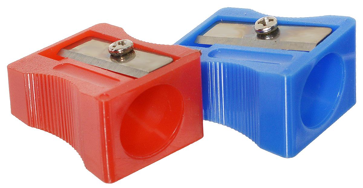 Action! Точилка цвет красный синий 2 шт84701ОТочилка Action! предназначена для затачивания классических простых и цветных утолщенных карандашей.В наборе две точилки из прочного пластика с рифленой областью захвата. Острые лезвия обеспечивают высококачественную и точную заточку деревянных карандашей.