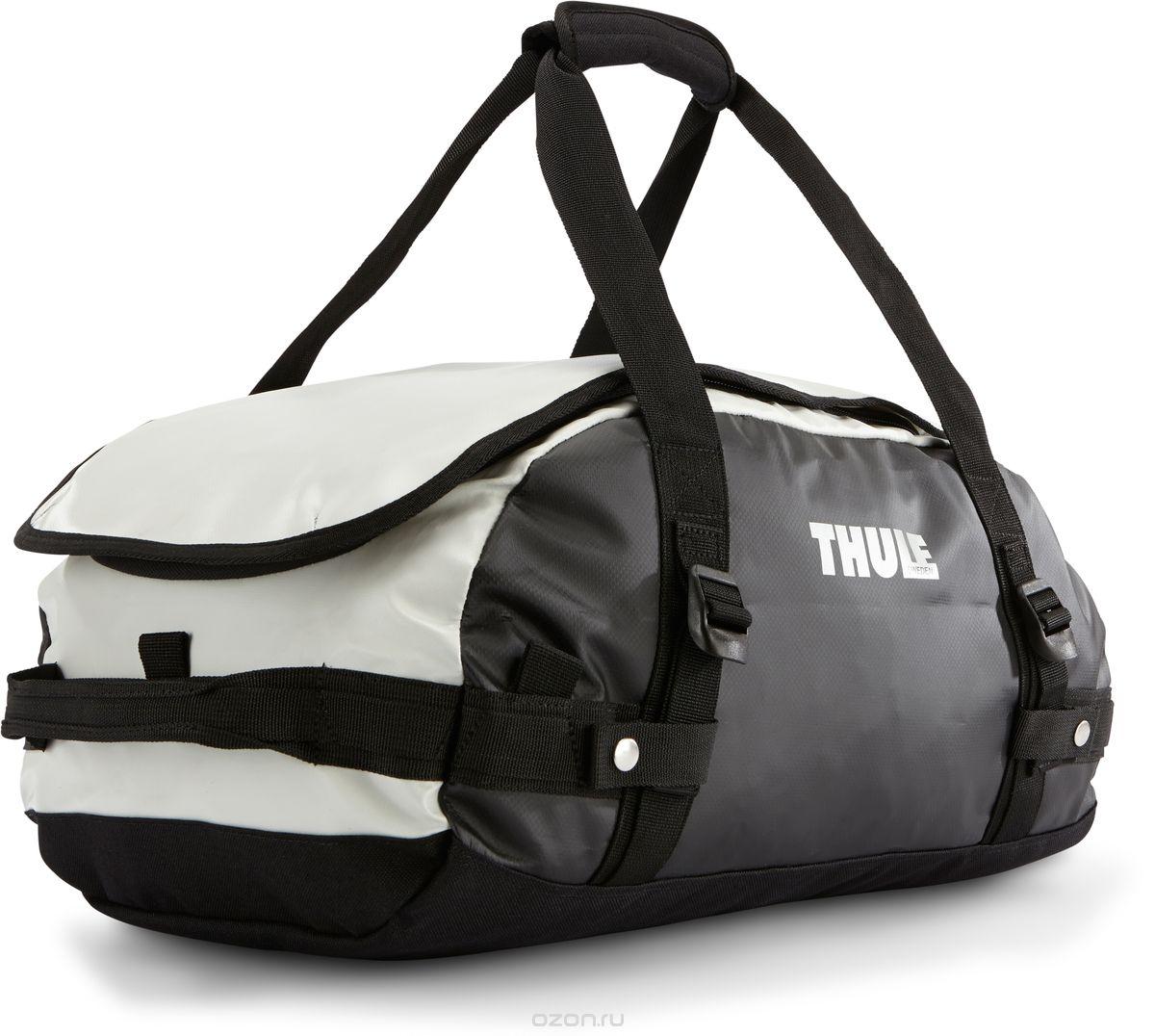 Туристическая сумка-баул Thule Chasm XS, цвет: темно-серый, белый, 27лКостюм Охотник-Штурм: куртка, брюкиThule Chasm X-Small - эта жесткая, устойчивая к неблагоприятным погодным условиям сумка с широко раскрывающимся основным отделением и съемными ремнями — ваш надежный спутник в любой поездке. Широко раскрывающееся отделение делает загрузку оборудования в сумку очень удобным. Боковые замки делают доступ к основному отделению удобным с любого угла Ремни складываются вдоль боковых сторон сумки. Ремни быстро превращают рюкзак в сумку. Прочная водонепроницаемая брезентовая ткань для удобной укладки вещей, которая легко складывается для хранения. Внутренние сетчатые карманы сохранят ваши вещи в порядке. Внешние фиксирующие ремни предотвращают содержимое сумки от падения на дно, когда она используется как рюкзак. Уплотненная нижняя часть сумки обеспечивает мягкое соприкосновение с землей. Блокировка застежки-молнии для защиты от воров (замок продается отдельно). Внешний сетчатый карман для небольших предметов. Размер сумки: 47 x 29 x 24 см.