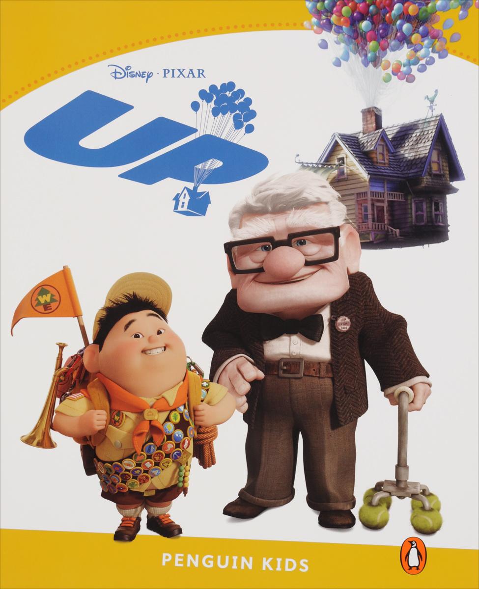 Up, адаптированная книга для чтения, Уровень 6 + код доступа к анимации Disney