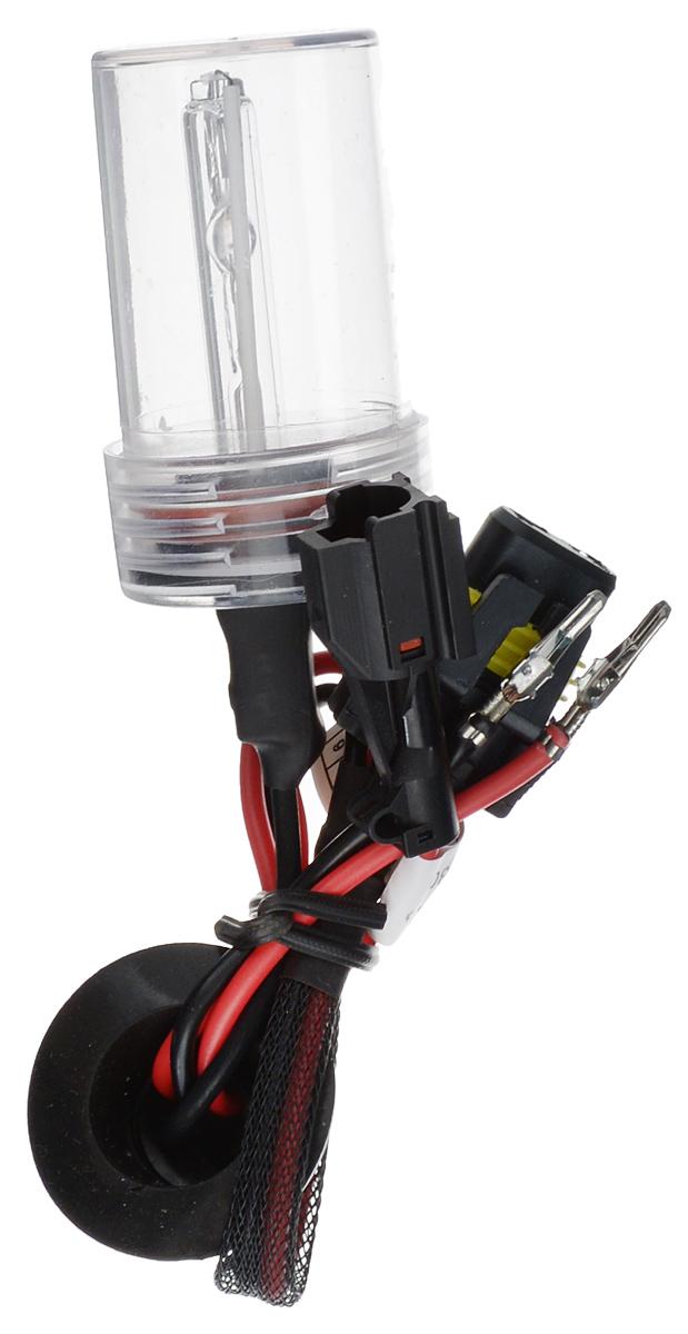Лампа автомобильная ксеноновая Nord YADA, H11, 6000KDAVC150Лампа автомобильная ксеноновая Nord YADA - это электрическая ксеноновая газозарядная лампа для автомобилей и других моторных транспортных средств.Ксеноновая лампа - это источник света, представляющий собой устройство, состоящее из колбы с газом (ксеноном), в котором светится электрическая дуга, которая возникает вследствие подачи напряжения на электроды лампы.Лампа дает яркий белый свет, близкий по спектру к дневному. Высокая яркость обеспечивает хорошее освещение дороги и безопасность. Свет лампы насыщенный и интенсивный, поэтому она идеально подходит для освещения дороги во время тумана.Преимущества по сравнению с галогенной лампой:- Безопасность - лучше освещает дорогу, помогает быстрее среагировать на дорожную обстановку;- Экономичность - потребляет меньше, а светит ярче;- Увеличенный срок службы - не имеет нити накаливания, поэтому долговечна и не боится тряски.