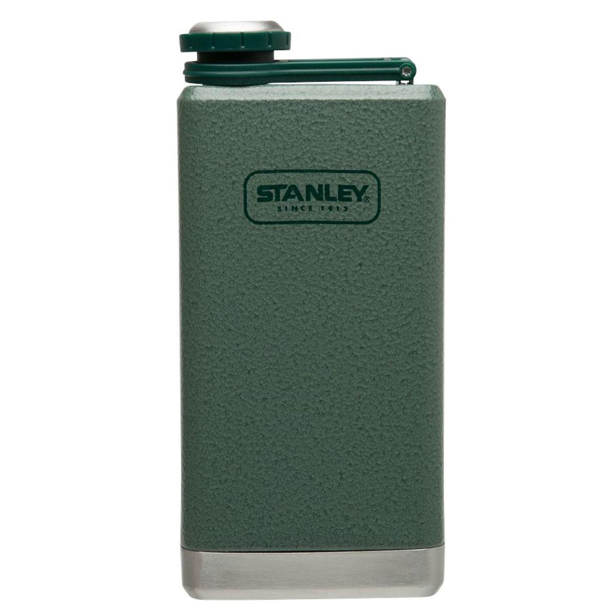 Фляга STANLEY Adventure, цвет: темно-зеленый, 0,23 лa026124Фляжка карманная. Объем - 0,23 л. Корпус из нержавеющей стали.Наружное покрытие - абразивостойкая эмаль. Цвет - темно-зеленый. Фляжка герметична. Гарантия - пожизненная.