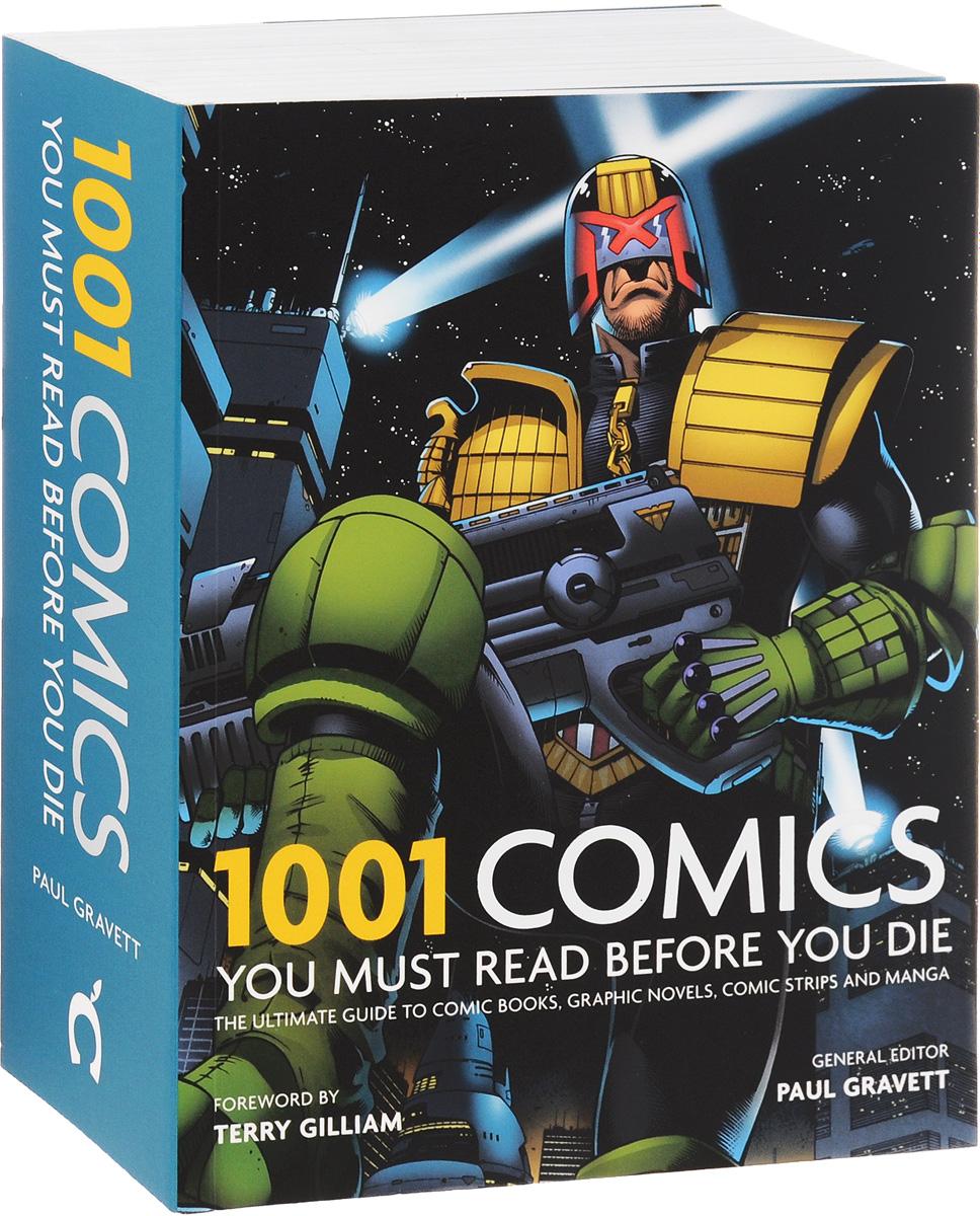 Книга 1001 Comics You Must Read Before You Die