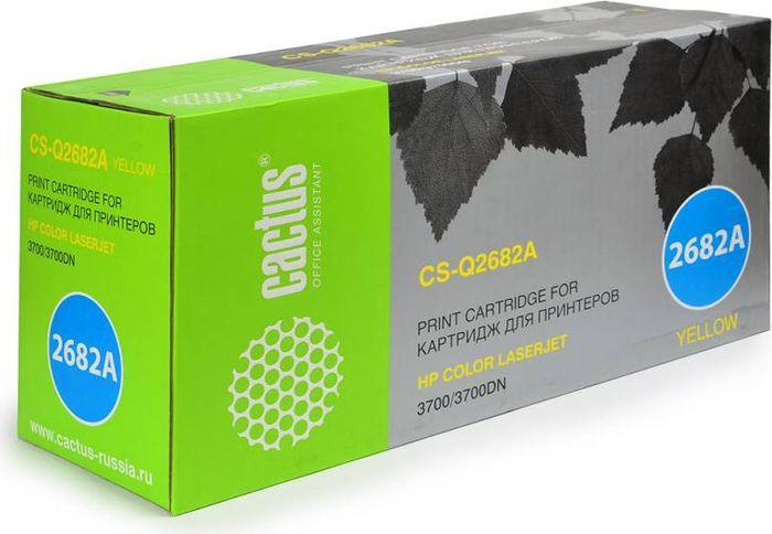 Cactus CS-Q2682A, Yellow тонер-картридж для HP CLJ 3700CS-CE255XDТонер-картридж Cactus CS-Q2682A для лазерных принтеров HP CLJ 3700. Расходные материалы Cactus для лазерной печати максимизируют характеристики принтера. Обеспечивают повышенную чёткость чёрного текста и плавность переходов оттенков серого цвета и полутонов, позволяют отображать мельчайшие детали изображения. Гарантируют надежное качество печати.