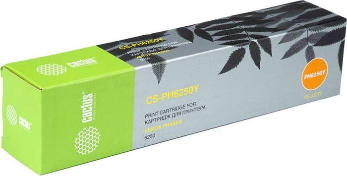 Cactus CS-PH6250Y 106R00670, Yellow тонер-картридж для Xerox Phaser 6250NV-006R01464CТонер-картридж Cactus CS-PH6250Y 106R00670 для лазерных принтеров Xerox Phaser 6250. Расходные материалы Cactus для лазерной печати максимизируют характеристики принтера. Обеспечивают повышенную чёткость чёрного текста и плавность переходов оттенков серого цвета и полутонов, позволяют отображать мельчайшие детали изображения. Гарантируют надежное качество печати.